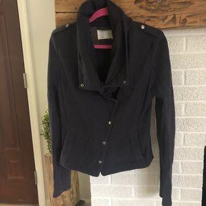 Anthropologie Tavi Gray Moto Jacket